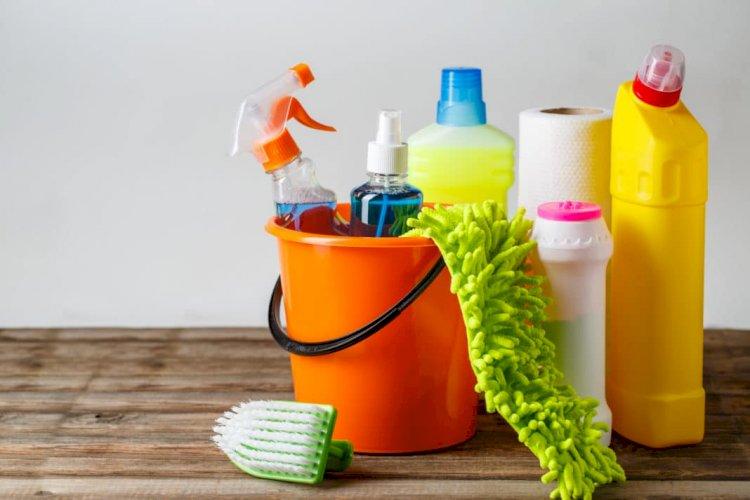 Ev Temizlik Ürünlerinde ve Ev Temizlik Ürünlerinde Tasarruf Sağlamanın 3 Yolu
