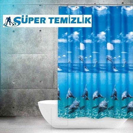 Banyo perdeleri nasıl temizlenir?
